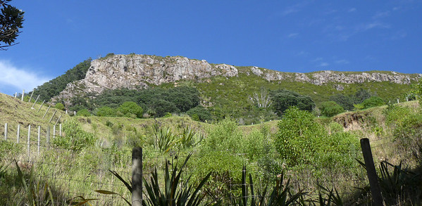 Another view of the summit of Mauao - Tauranga
