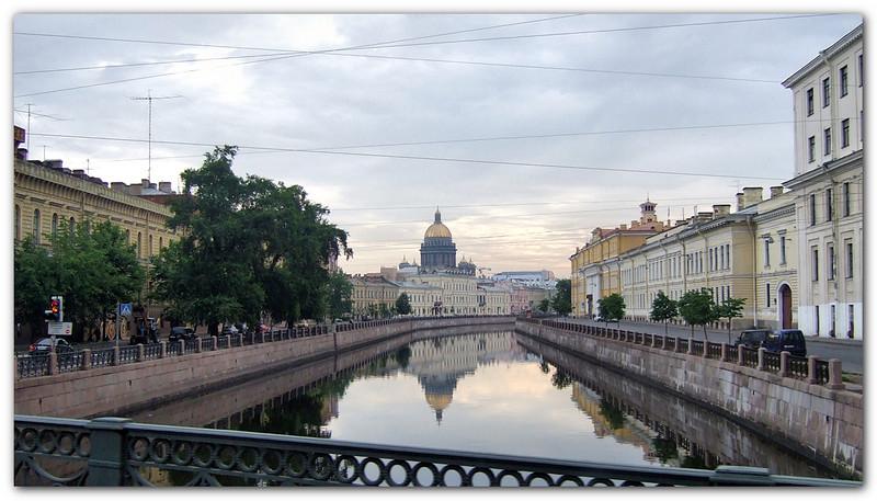 Neva River. Dynamic HDR copy.
