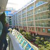 Our balcony stateroom view