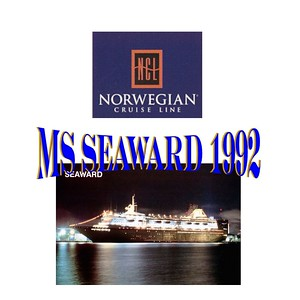 Cruise - MS Seaward 1992