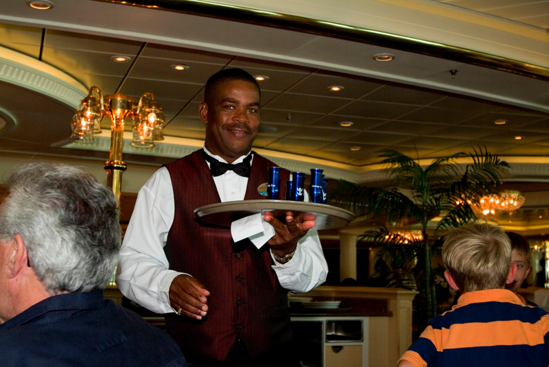 Tell me our bartender wasn't Tracy Morgan himself!!!