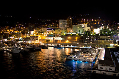 Monte Carlo at night