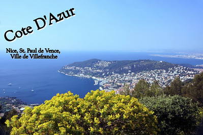Cote D'Azur (The Blue Coast)
