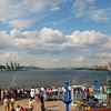 Hudson River to the North --<br /> Cruise Day 1, New York City