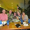 Paul, Mike/Aristea Lucido, Kim Kemble, and Binh at Muddy Waters Grill in Deerfield Beach.
