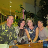 Mike and Aristea Lucido, Kim Kemble, and Binh, at Muddy Waters in Deerfield Beach.