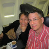 Binh's sister's husband used his FF miles to score 1st class seats to Ft. Lauderdale.  Sweet.