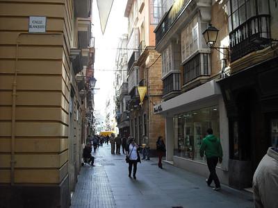Cadiz scenes (taken from HopOn/HopOff bus)