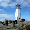 Halifax, Nova Scotia - light house at Peggy's Cove