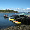 Bar Harbor, Maine - the tender that brouhgt us to shore