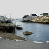 Halifax, Nova Scotia - a scene at Peggy's Cove