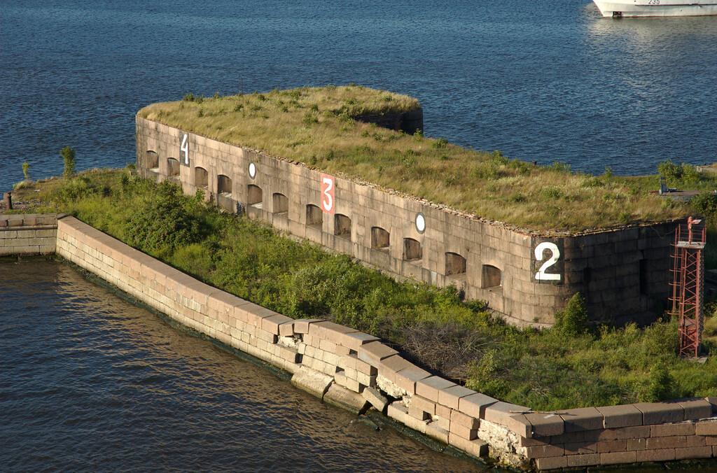 Deserted Soviet Sub Base, St. Petersburg