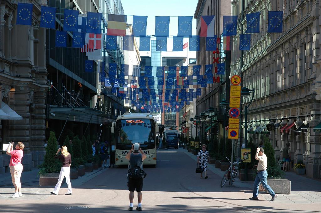 Jack Davis in Helsinki