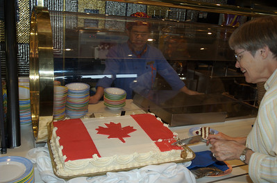 Canada Day on the Westerdam