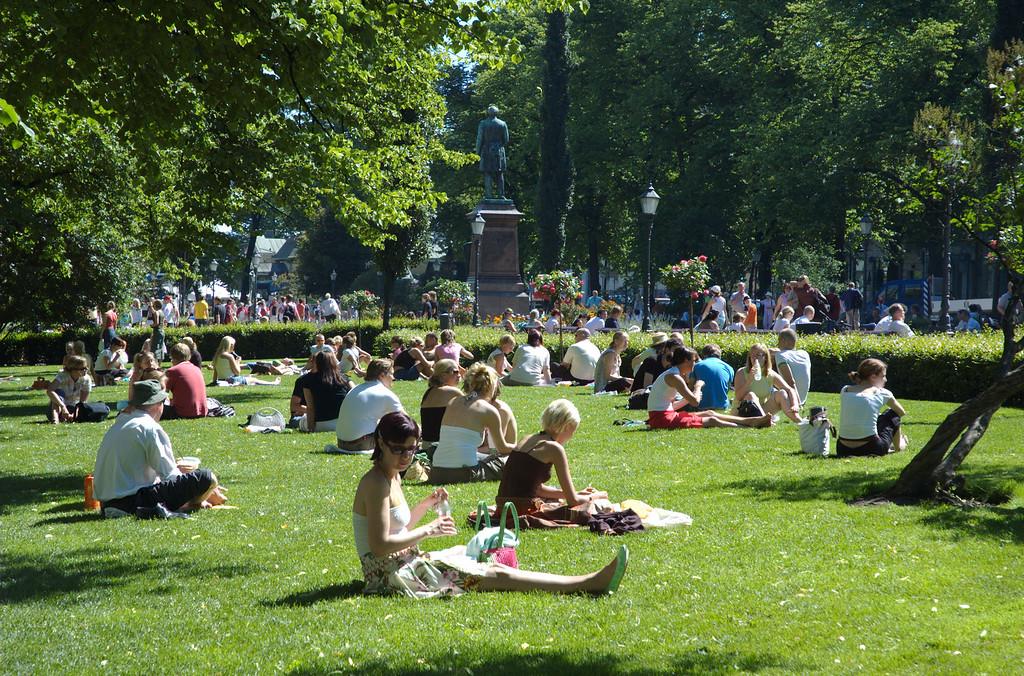 Summer in Helskini