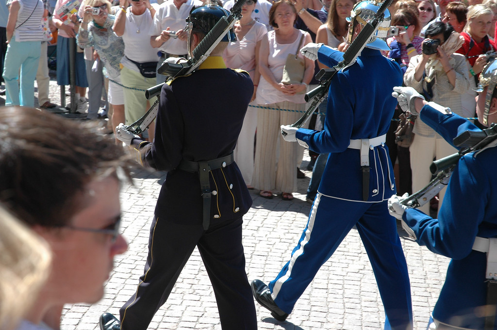 Changing of the Guard, Stockholm
