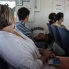 Taking the ferry to Hamilton