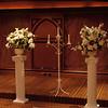 Floral arrangements.