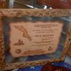 inaugural visit plaque