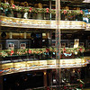 Grand Atrium in Christmas splendor
