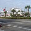 Starboard view of CARNIVAL MAGIC In Galveston