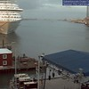 Another web cam shot of Galveston Harbor and CARNIVAL MAGIC.