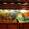 Staircase mural