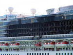 Our Original Planned Ship. The Star Princess caught fire the Thursday before we were to sail.