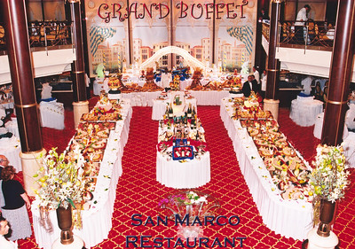 Grand Buffet aboard Celebrity Constellation, 9/9/2003.