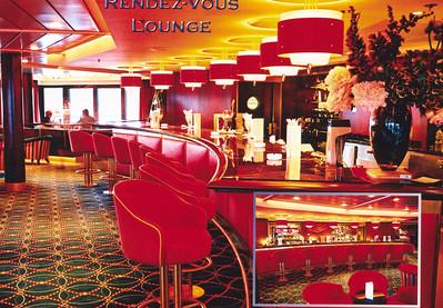 Celebrity Constellation's Rendez-Vous Lounge, 9/9/2003.