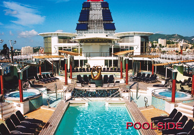 Celebrity Constellation's Pools, 9/9/2003.