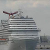 CARNIVAL DREAM departing Port Canaveral Feb. 16, 2013