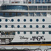 DISNEY MAGIC seen from the EZ Cruise Parking Lot in Galveston TX.