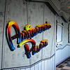 Entrance to Animators Palate, one of three main dining rooms on the ship.