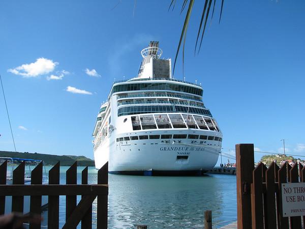 Grandeur of the Seas - Dec, 2009 - Caribbean