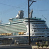 Port side, stern view of MARINER OF THE SEAS.