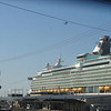 Port side view of MARINER OF THE SEAS.