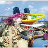 Norwegian Epic, set for delivery in late May 2010, takes Freestyle Family Fun to the extreme with an expansive Aqua Park that includes three water slides of varying thrill factors, including one specifically designed for children that zips straight through the rock climbing wall; a more adventurous slide twisting and turning down three stories; and The Epic Plunge, the only tube slide at sea that puts the blast of inner-tubing into the core of a bowl slide with a thrilling drop through a 200-foot long tube.  Riders are then launched into the vortex of The Epic Plunge where centrifugal forces keep them high on the wall for several turns, ending in an exciting transition into a splashdown lane.