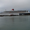 QUEEN MARY 2 at Ocean Terminal in Southampton on 12 November 2013.