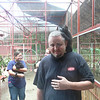 Coco didn't want to get off my head the entire time we were in the monkey habitat (at the Jaguar Rescue Center