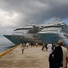 Our ship in port with the Liberty in Cozumel