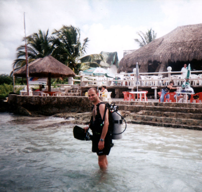 Scuba Diving<br /> I can handle this depth.