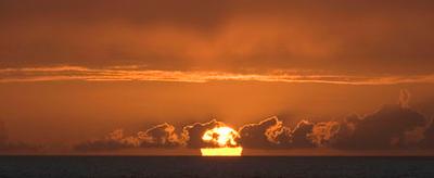 Sunset on Mariner of the Seas 12/26/06