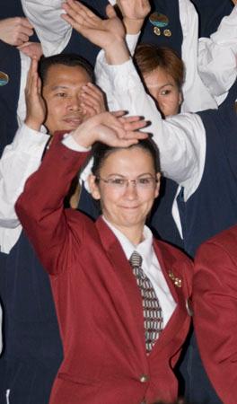 Hava (Head Waiter) on Mariner of the Seas, Christmas 2006