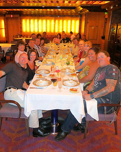 Steakhouse - the whole gang!