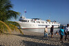 Our Vessel was large enough for 90 passengers when full... yet lithe enough to pull up to an island beach or even a resort dock!!