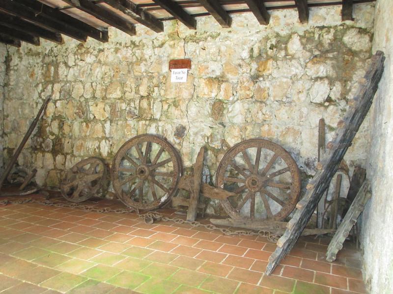 Inside the castle.