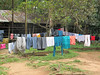 Monday, washday. The Casa Guatamala is actually an orphanage as well as a school for local kids. At each visit, passengers of the Blount cruises will contribute a shuttle boat full of foods and school needs to the school.