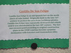 Just the facts on the Castillo de San Felipe in Guatamala at the entrance to Lake Isabel.