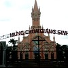 Danang, Vietnam - a Christian church in this mostly Buddhist country